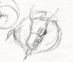 sc0676 (Josh Beck 77) Tags: traditional traditionalart pencil fantasy fantasycreature dragon drawing sketch