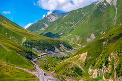 The Georgian Military Road, Kazbegi, Georgia (CamelKW) Tags: georgia2019 mtskhetamtianeti georgia thegeorgianmilitaryroad kazbegi