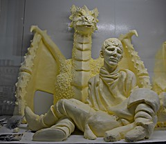 Butter Sculpture, Canadian National Exhibition, Exhibition Place, Toronto, ON (Snuffy) Tags: buttersculpture canadiannationalexhibition cne exhibitionplace enercarecentre toronto ontario canada musictomyeyes