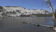 May Lake / Yosemite National Park (Ron Wolf) Tags: cretaceous earthscience geology geomorphology granodioriteofmounthoffmann maylake mesozoic nationalpark sierra yosemitenationalpark erosion glacialvalley glaciation lake landscape montane nature california