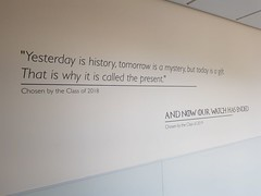 Day 238 (Iain Purdie) Tags: happy 2019 gameofthrones quote wall classof2019 work hsog highschoolofglasgow