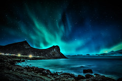 showtime (steinliland) Tags: auroraborealis northernlights lofotenisland solaractivity