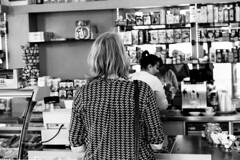 Stadt (tiltdesign2016) Tags: rolleiretro400s adonalrodinal125 analogphotography bw plustekopticfilm7600ise leicam2 canoncanoscan9000f canon50mmf14leicascrewmountltm wuppertal street stadt café cafe