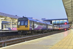 Pacer Twilight (Adam Fox - Plane and Rail photography) Tags: arriva northern trains passenger sheffield mml midland main line sprinter pacers class 142 144 153 144005 142090 br british rail railways railway railroad tracks track diesel multiple unit units