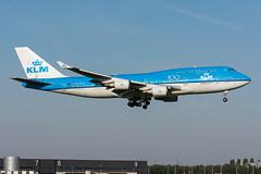 PH-BFH - KLM Royal Dutch Airlines - Boeing 747-406(M) (5B-DUS) Tags: phbfh klm royal dutch airlines boeing 747406m b744 747400 ams eham airport aircraft airplane aviation amsterdam schiphol flughafen flugzeug planespotting plane spotting