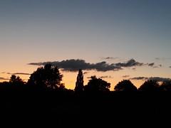 31st August 2019 (themostinept) Tags: night sky hemingfordgrey trees clouds cambridgeshire pe28 huntingdon park