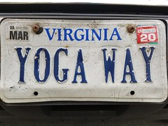Yoga Way (Gamma Man) Tags: licenseplate plate va virginia elichristman elijahchristman elijameschristman elijahjameschristman elichristmanrva elijahchristmanrva elichristmanrichmondva elichristmanrichmondvirginia elijahchristmanrichmondva elijahchristmanrichmondvirginia vanitytag numberplate wankertag customnumberplate vanityplate