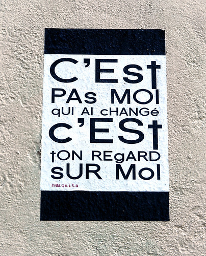 Words on wall by mOsquita [Paris 11e]