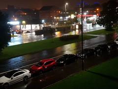Day 242 (Iain Purdie) Tags: happy 2019 rain puddle water splash weather