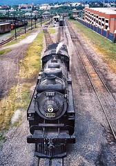 Scranton Pennsylvania - United States  -  Steamtown National Historic Site (Onasill ~ Bill Badzo - 66M) Tags: scranton pa unitedstates usa pennsylvania steamtown national historic site nrhp trains roundhouse onasill railroad museum heritage lackawanna downtown vintage photo old building engines steam