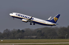 Ryanair EI-FOF (Infinity & Beyond Photography: Kev Cook) Tags: eifof ryanair airlines airways boeing 737 737800 b737 aircraft airplane airliner ringway airport manchester man egcc planespotting photos planes