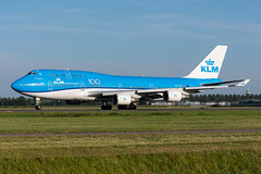 PH-BFT - KLM Royal Dutch Airlines - Boeing 747-406(M) (5B-DUS) Tags: phbft klm royal dutch airlines boeing 747406m b744 747400 ams eham airport aircraft airplane aviation amsterdam schiphol flughafen flugzeug planespotting plane spotting
