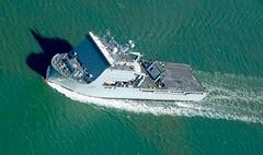 RX303695 (gosport_flyer) Tags: ship boat water waves green southampton yb