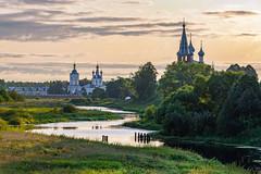 Morning in Dunilovo (gubanov77) Tags: russia dunilovo village sunrise morning tezariver church monastery landscape summertime orthodox