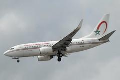 CN-RNL (LIAM J McMANUS - Manchester Airport Photostream) Tags: cnrnl royalairmaroc marocair at ram boeing b737 b73g 73g boeing737 boeing737700 egcc manchester man