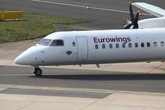 D-ABQO De Havilland Canada DHC-8-402Q Eurowings (FokkerAMS) Tags: dehavillandcanadadash8 eurowings dabqo lgwluftfahrtgesellschaftwalter