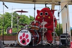 にゃんごすたー Nyangostar (morischan) Tags: aomori japan red cat yuruchara kigurumi mascot costume 青森県 にゃんごすたー ドラム 赤 ゆるキャラ 着ぐるみ マスコット ご当地キャラ