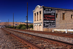 Waldron Brothers Drugstore (Ian Sane) Tags: ian sane images waldronbrothersdrugstore building historic thedalles wascocounty oregon 1864 railroad tracks columbia river gorge landscape architecture photography perspective canon eos 5ds r camera ef1740mm f4l usm lens