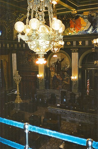 Pennsylvania State Capitol  - Harrisburg Pennsylvania  -   Senate Chambers
