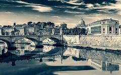 Rome (ravalli1) Tags: rome italy saintpeter tiber river roma tevere sanpietro