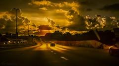 Comme la Nuit Tombe Sur la Ville (JDS Fine Art Photography) Tags: street sunset city urban cinematic road urbanbeauty