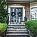 Binghamton  New York - Historic House - 25 Riverside St - Portico