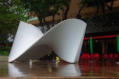 Poésia em ruinas (Edgard.V) Tags: brasil brésil brasile brazil rio de janeiro rj botafogo edificio argentina ascânio mmm escultura sculpture sculptura poésie ruines ruins poetry aluminio aluminium