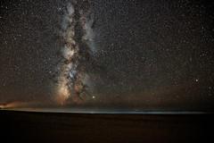 The beach at night (woodwindfarm) Tags: milky way oregon coast