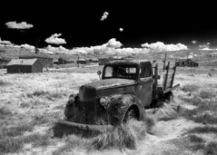 Bodie - Special Delivery (NikonD3xuser1(Thanks for 2 million visits)) Tags: usa california bodie truck field clouds nikon d850