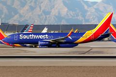 Southwest Airlines | Boeing 737-800 | N8693A | Las Vegas McCarran (Dennis HKG) Tags: aircraft airplane airport plane planespotting canon 7d 100400 lasvegas mccarran klas las southwest southwestairlines swa wn boeing 737 737800 boeing737 boeing737800 n8693a