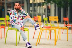 Create for lunch !! (Glass_rabbithole) Tags: newyorkfashion art newyorkcity clothingdesigner designer hm harlemphotographer harlem menswear photoshoot mirrorless explore daytime sunny sunlight 105mm