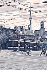College/ Spadina (sjnnyny) Tags: toronto collegestreet spadinaave theroket streetcar bicycle urban canada city stevenj sjnnyny d750 cntower skyline f7114000iso45013step82mm