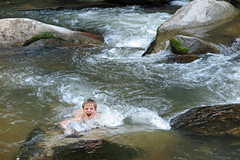 batcave2yell (FAIRFIELDFAMILY) Tags: bat cave chimney rock nc north carolina swimming river rocks water grant jason carson michelle south sc outside lake lure nature explore exploring father son travel swim white whitewater rapids mountain mountains summer pretty