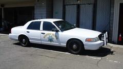 California Highway Patrol (Emergency_Spotter) Tags: california highway patrol ford crown victoria polar bear chp cvpi pcf haywayd 345 steelies slicktop marked push bumper dual chrome spotlights rwd