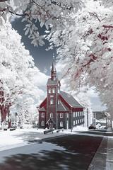 IR-Church (Christoph Wenzel) Tags: deutschland sigma16mmf14dcdn sonyalpha6000 thüringen 720nm stadt neuhausamrennweg infrarot natur sommer