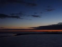 Reykjavík at midnight (cassandi) Tags: travel sunset seascape night iceland reykjavik midnightsun coastal