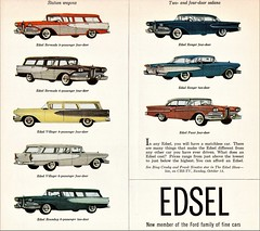 1958 Edsel Wagons & Sedans