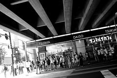 Ordinery people (shou yokoya) Tags: streetphotography street film 135 35㎜ monochrome bw bessat nokton classic 40㎜ kodak trix 400tx 400 analogue sapporocity