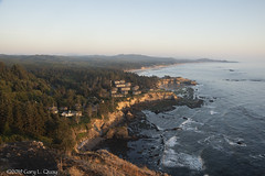 The View from Cape Foulweather (Gary L. Quay) Tags: capefoulweather oregoncoast oregon pacificocean pacific ocean sea coast seaside waves sunset nikon garyquay water ottercrest otterrock upperleftcoast westernusa