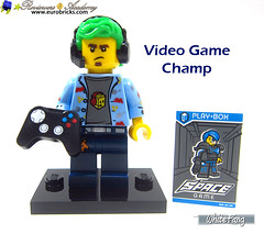 1) Video Game Champ (WhiteFang (Eurobricks)) Tags: lego collectable minifigures series city town space castle medieval ancient god myth minifig distribution ninja history cmfs sports hobby medical animal pet occupation costume pirates maiden batman licensed dance disco service food hospital child children knights battle farm hero paris sparta historic brick kingdom party birthday fantasy dragon fabuland circus