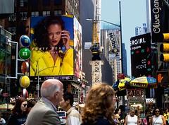 Fenty (coviello_pasta) Tags: newyork ny newyorkcity nyc timessquare manhattan rihanna fenty fentybeauty city photography midtown