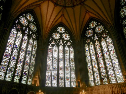 Chapter House Stained Glass Windows