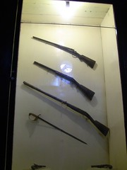 Weapons in museum at Mangkunegaran Palace, Surakarta (philip.mallis) Tags: indonesia solo surakarta mangkunegaranpalace museum history