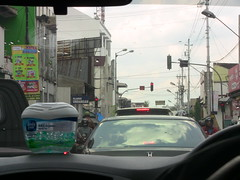 Stuck in traffic in Surakarta, Indonesia (philip.mallis) Tags: indonesia solo surakarta street traffic city