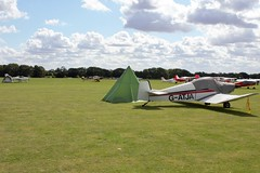 Empty parking spaces (Craig S Martin) Tags: sywell aviation aircraft airplane laa flyin