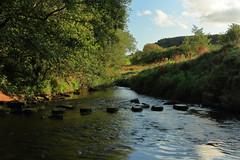 Esk stepping stones. (Mike.Dales) Tags: steppingstones riveresk danby northyorkmoorsnationalpark northyorkshire yorkshire england
