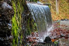 La cortina de agua (SantiMB.Photos) Tags: 2blog 2tumblr 2ig artigadelin esbòrdes valldaran valdaran pirineos pyrenees lleida otoño autumn agua water fuente fountain hontdethgresilhon geo:lat=4269172666 geo:lon=070720821 geotagged bordeses cataluna españa