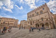 Center of Perugia (WS Foto) Tags: perugia umbria italy europe eu center zentrum umbrien italien palazzi brunnen fountain