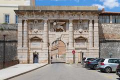 Kopnena vrata Entrance to the Old Town of Zadar, Croatia