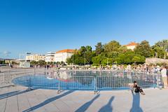 Solar-Installation Gruß an die Sonne in Zadar, Kroatien